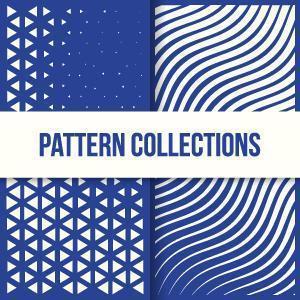 diseño digital futurista de patrones modernos vector
