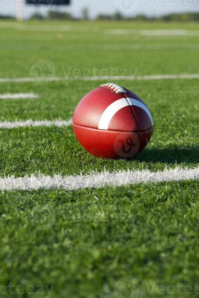 American Football along the Yard Lines photo