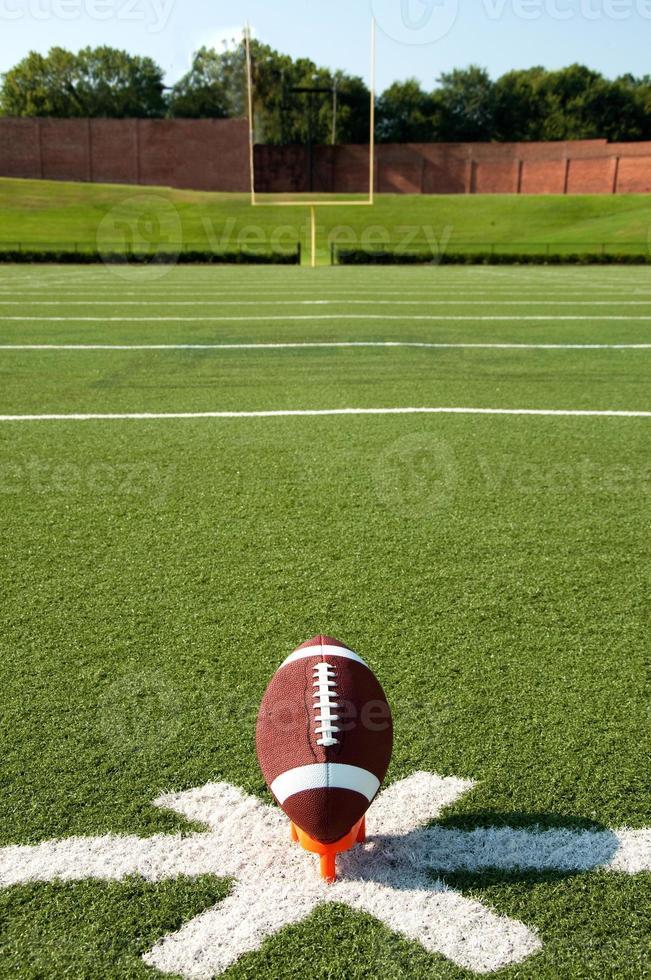 American Football Kickoff photo