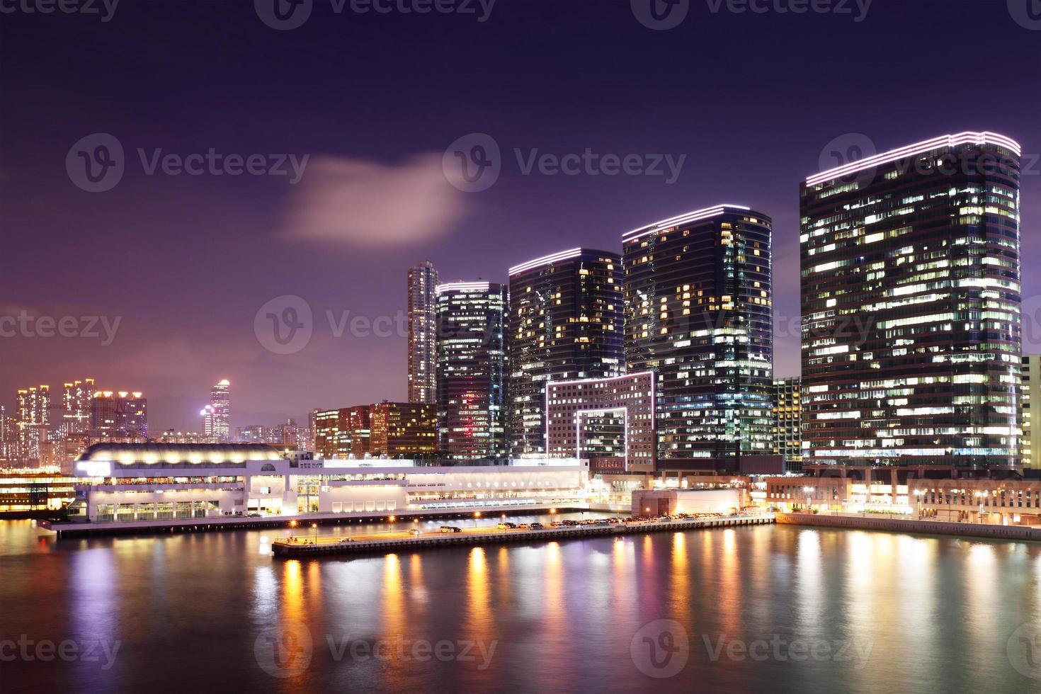Kowloon at night photo