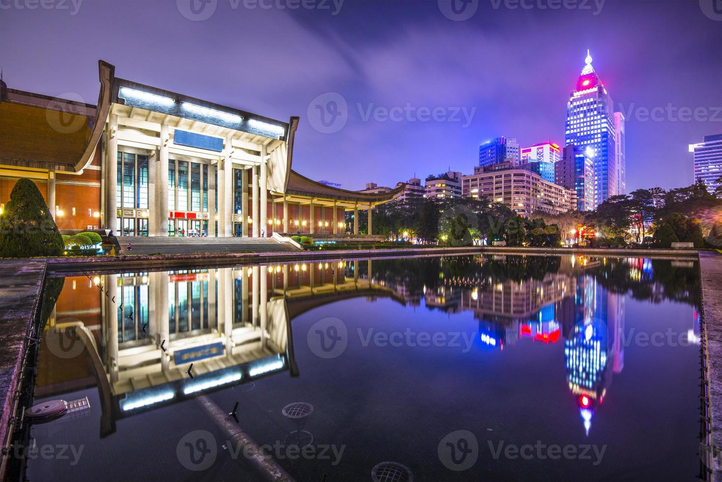 paisaje urbano de taipei foto