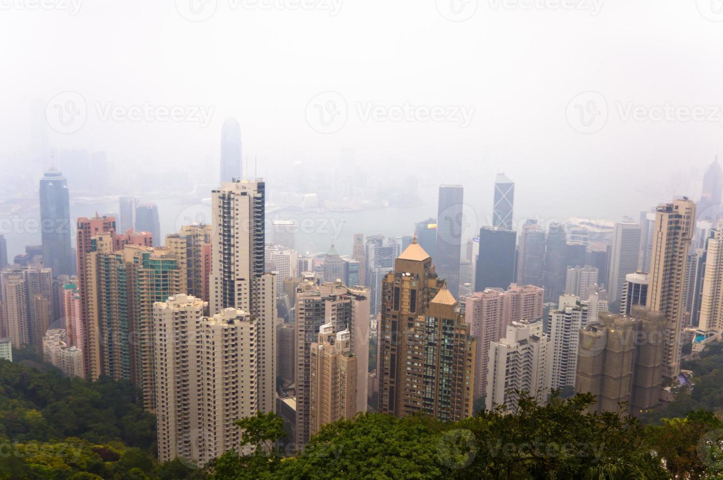 View of Hong Kong photo