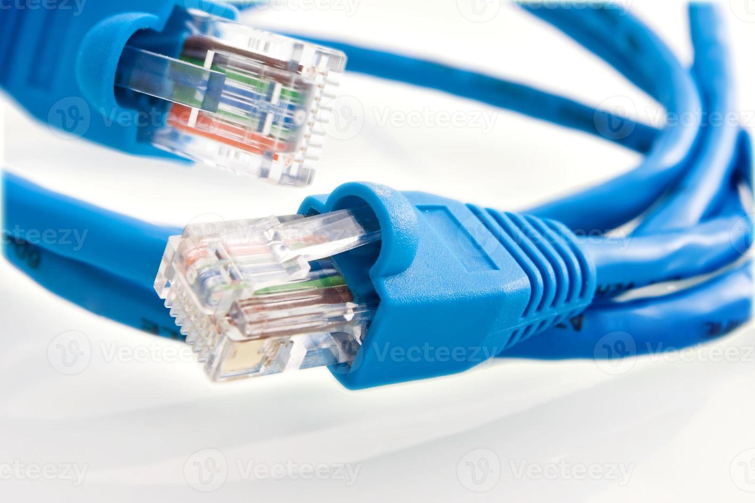 cable de red rj45 foto