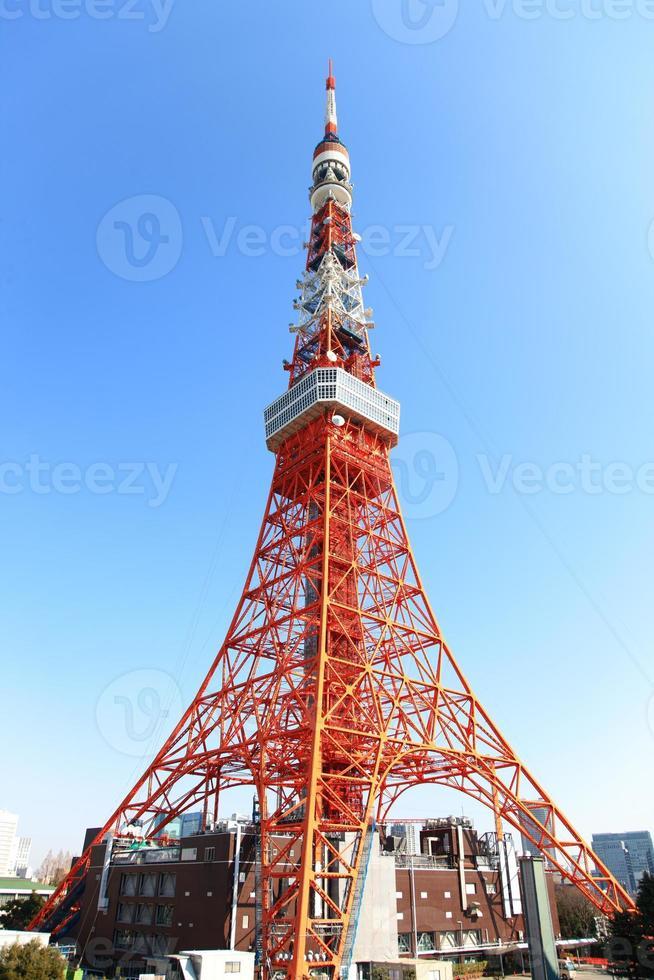 Torre de Tokio, Tokio, Japón foto