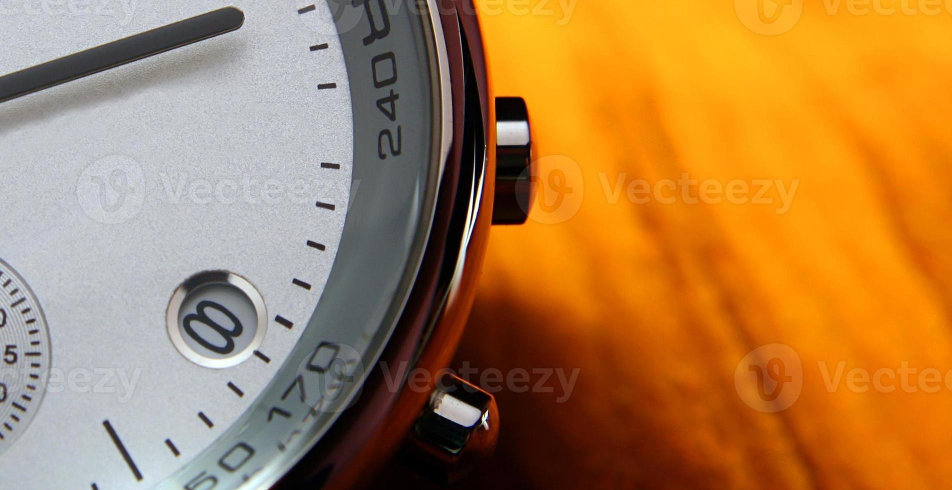 Modern Watch - macro photo