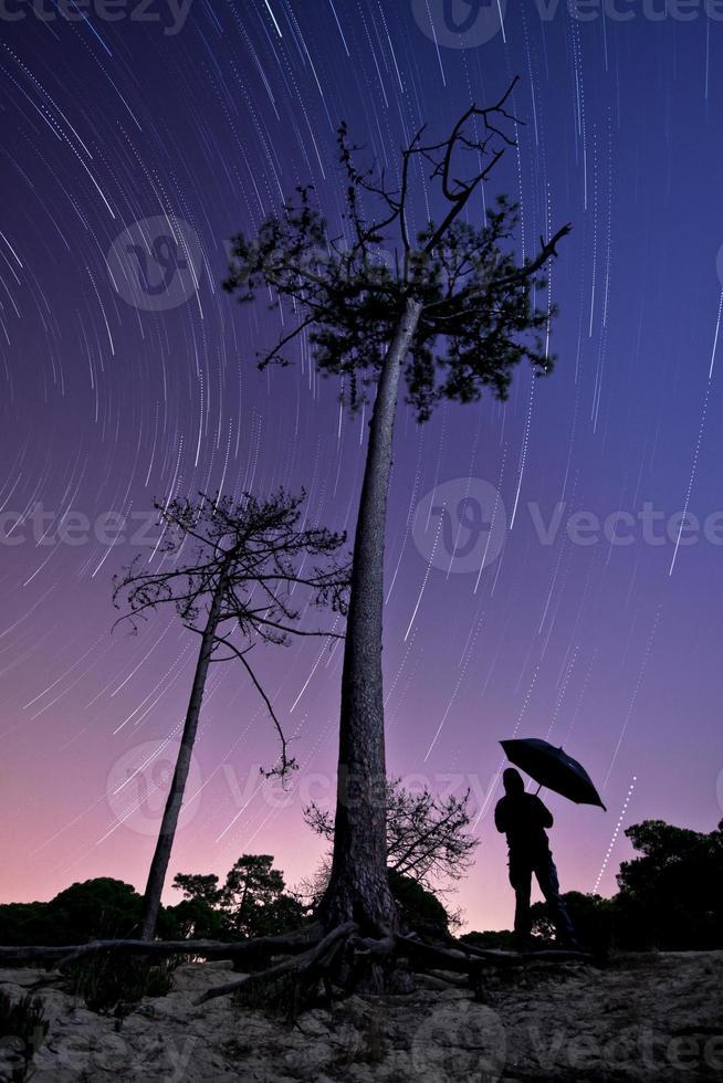 lloviendo estrellas foto