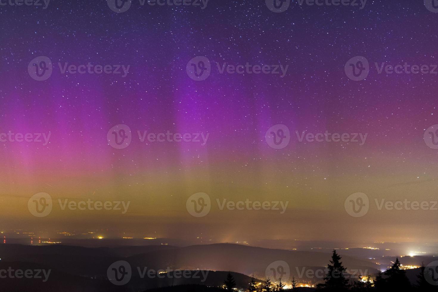Polarlicht über Deutschland photo