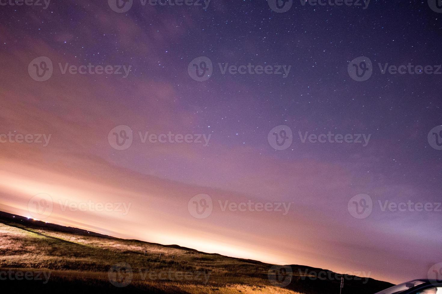 estrellas en el cielo nocturno, lluvia de meteoros perseidas 2015 burton dassett foto
