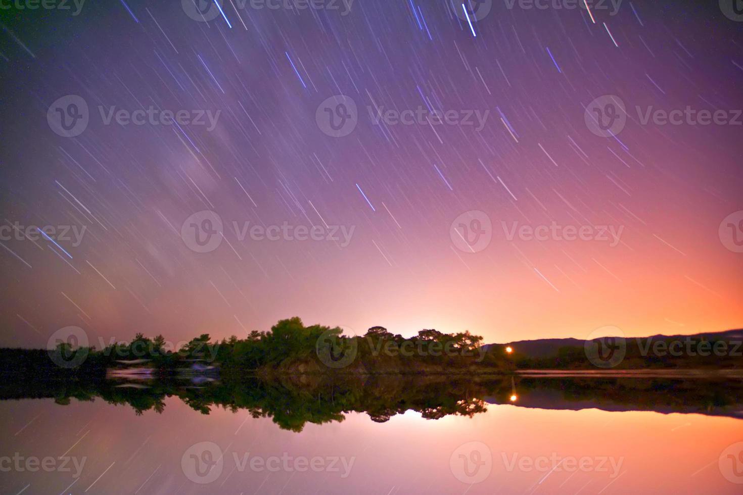 exposición de estrellas ... Turquía foto