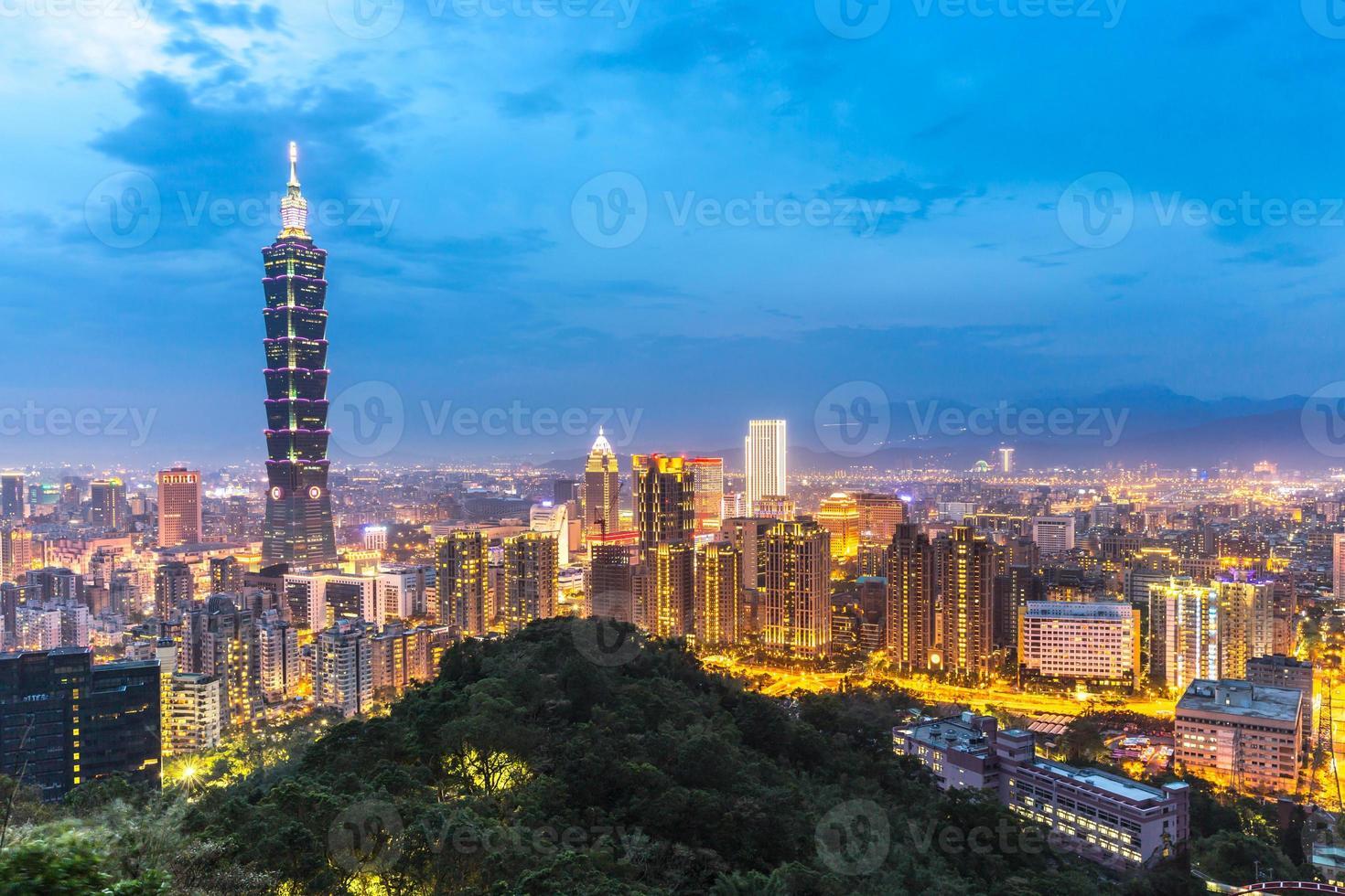Taipei skyline photo