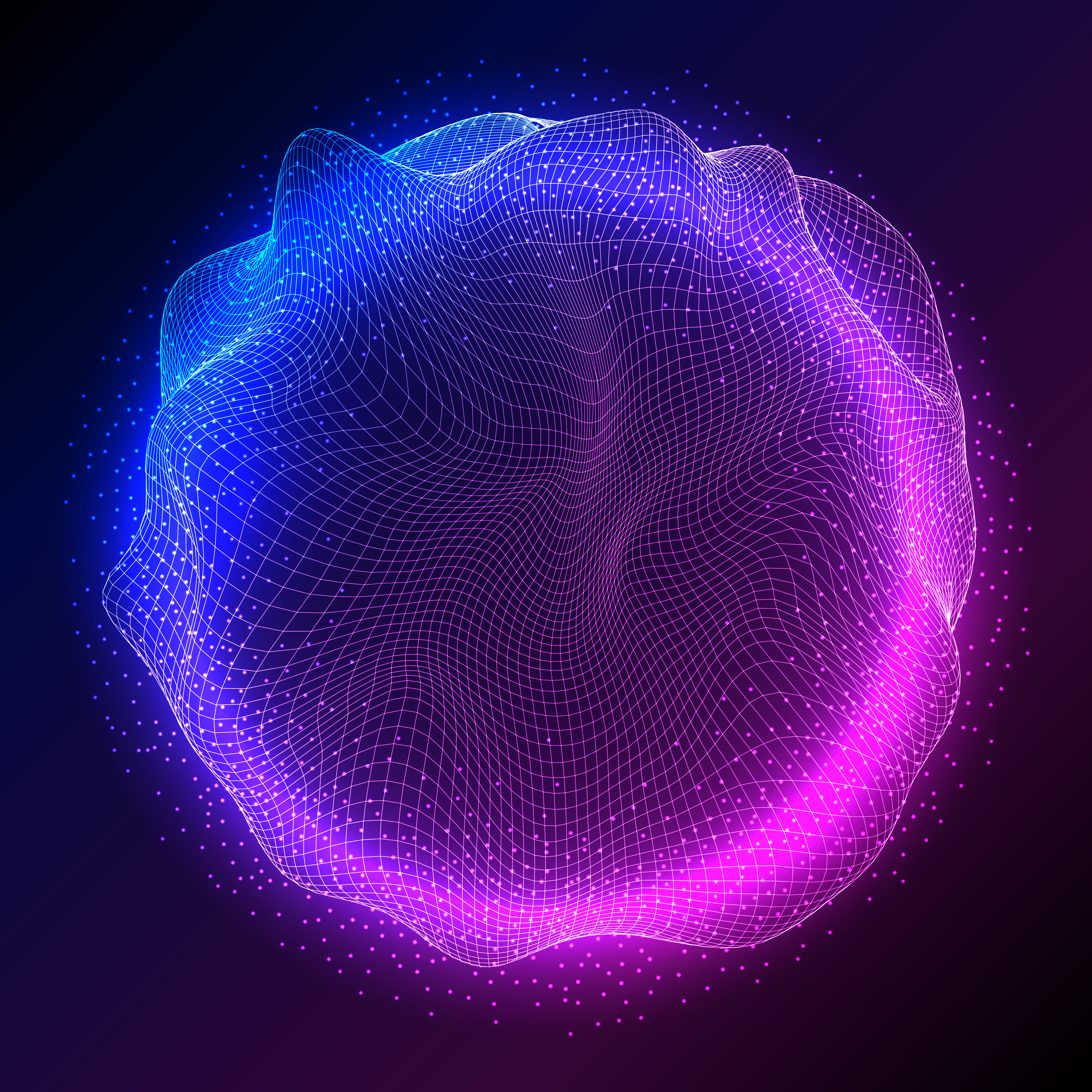 abstract sphere design with flowing particles 1072270 vector art at vecteezy  vecteezy