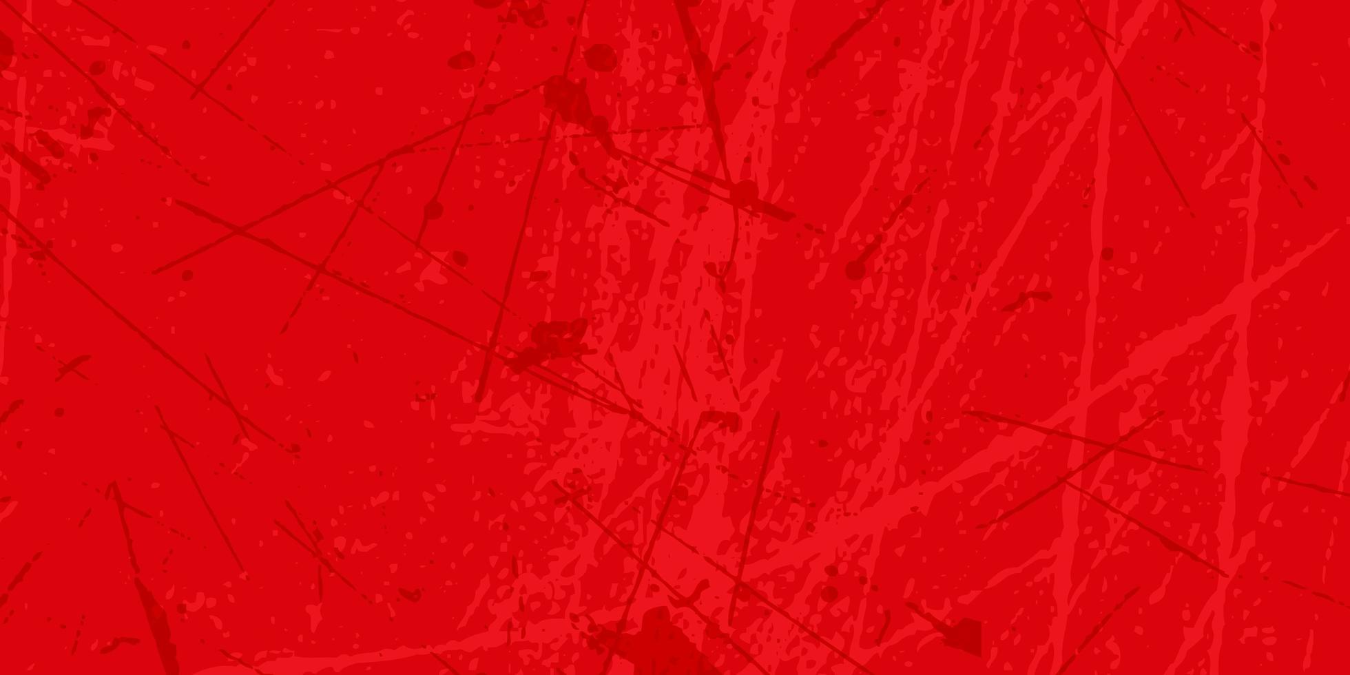 Red grunge texture banner  vector