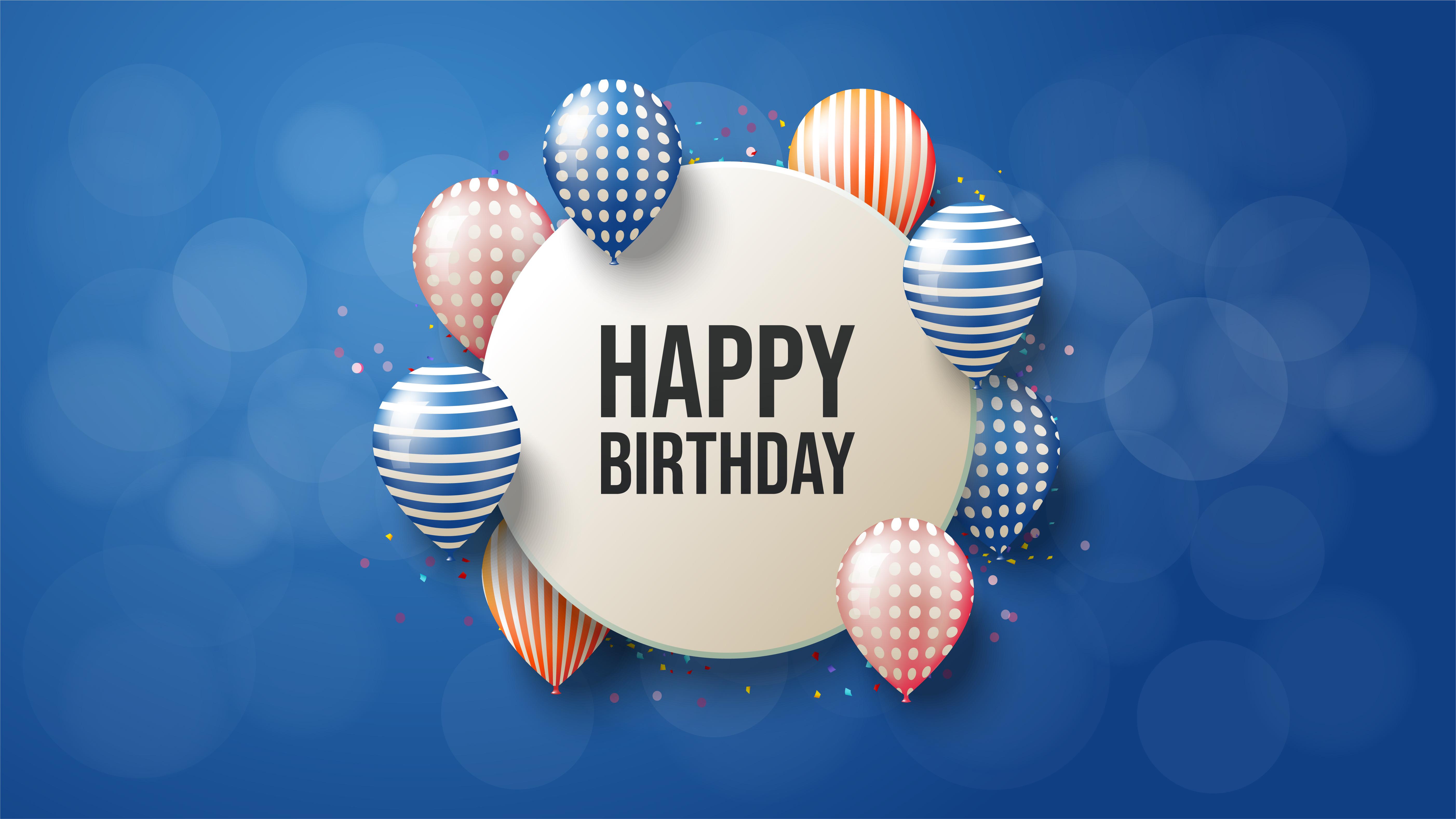 circular happy birthday background  download free vectors