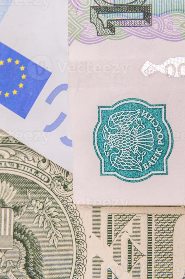 Russian banknotes photo
