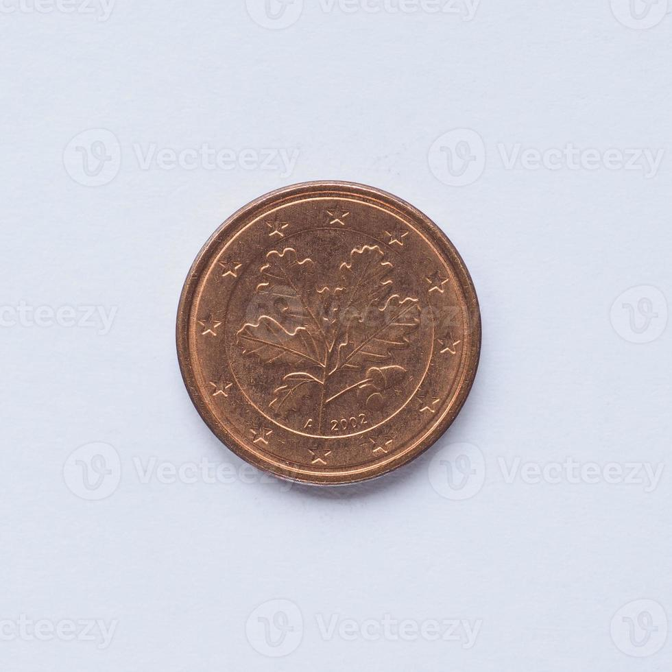 German 1 cent coin photo
