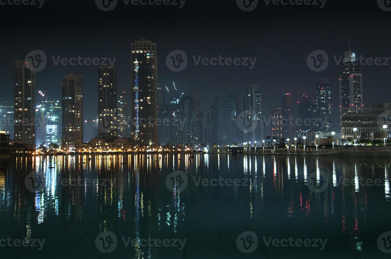 Dubai by night photo