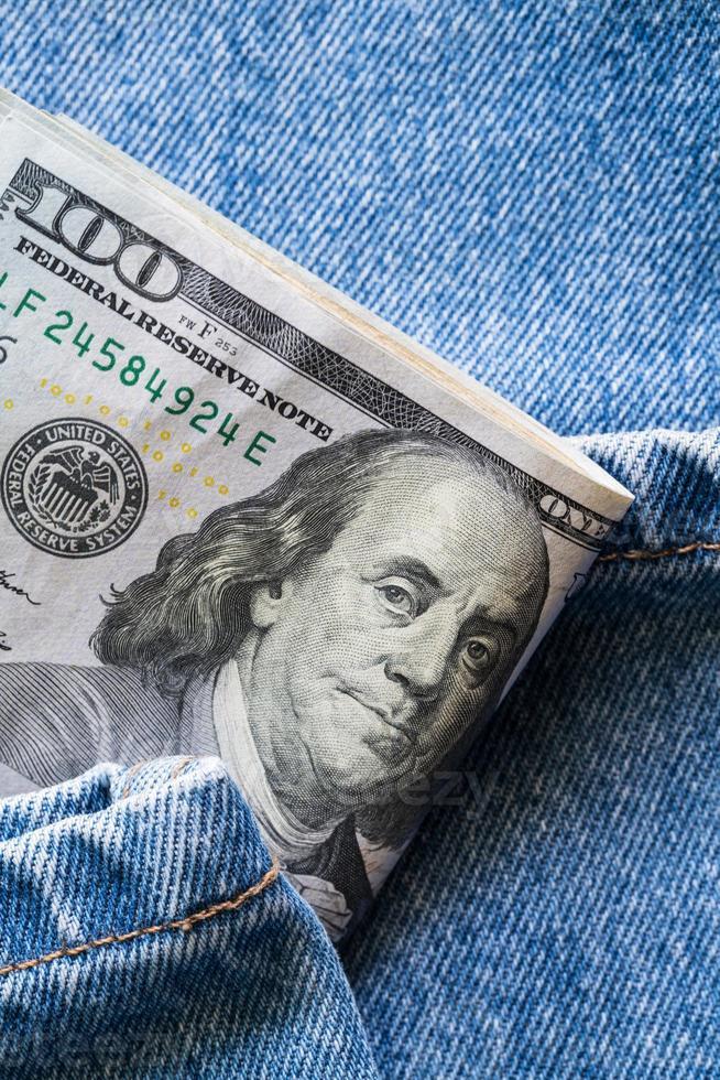 Dollars bills photo
