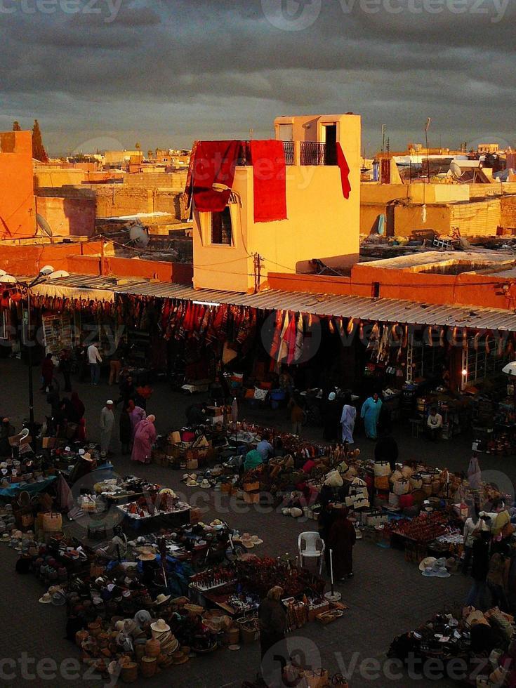 mercado marroquí foto