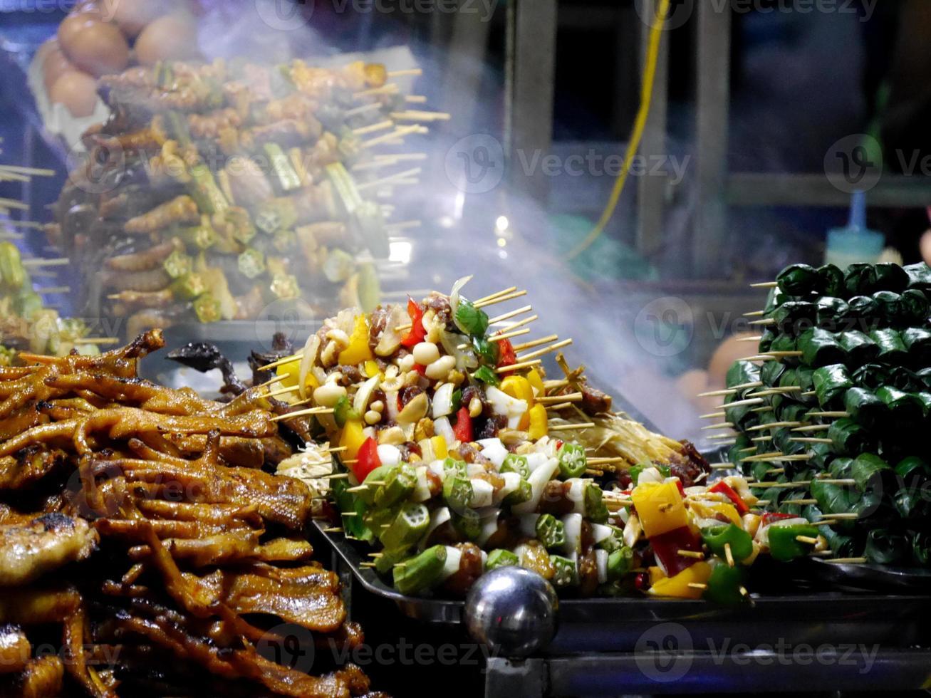 mercado de alimentos vietnam foto