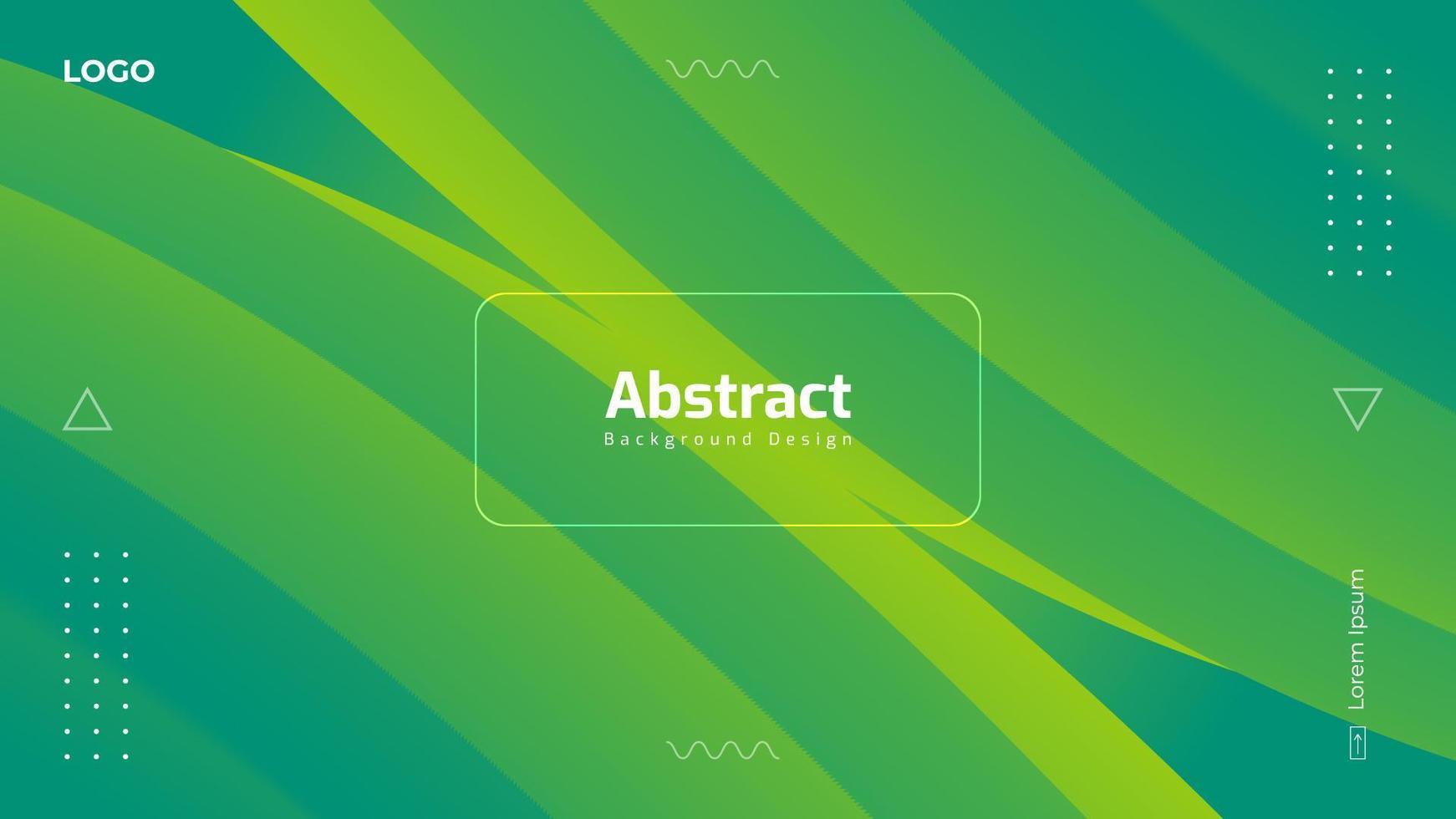 diseño de fondo fluido degradado abstracto vector