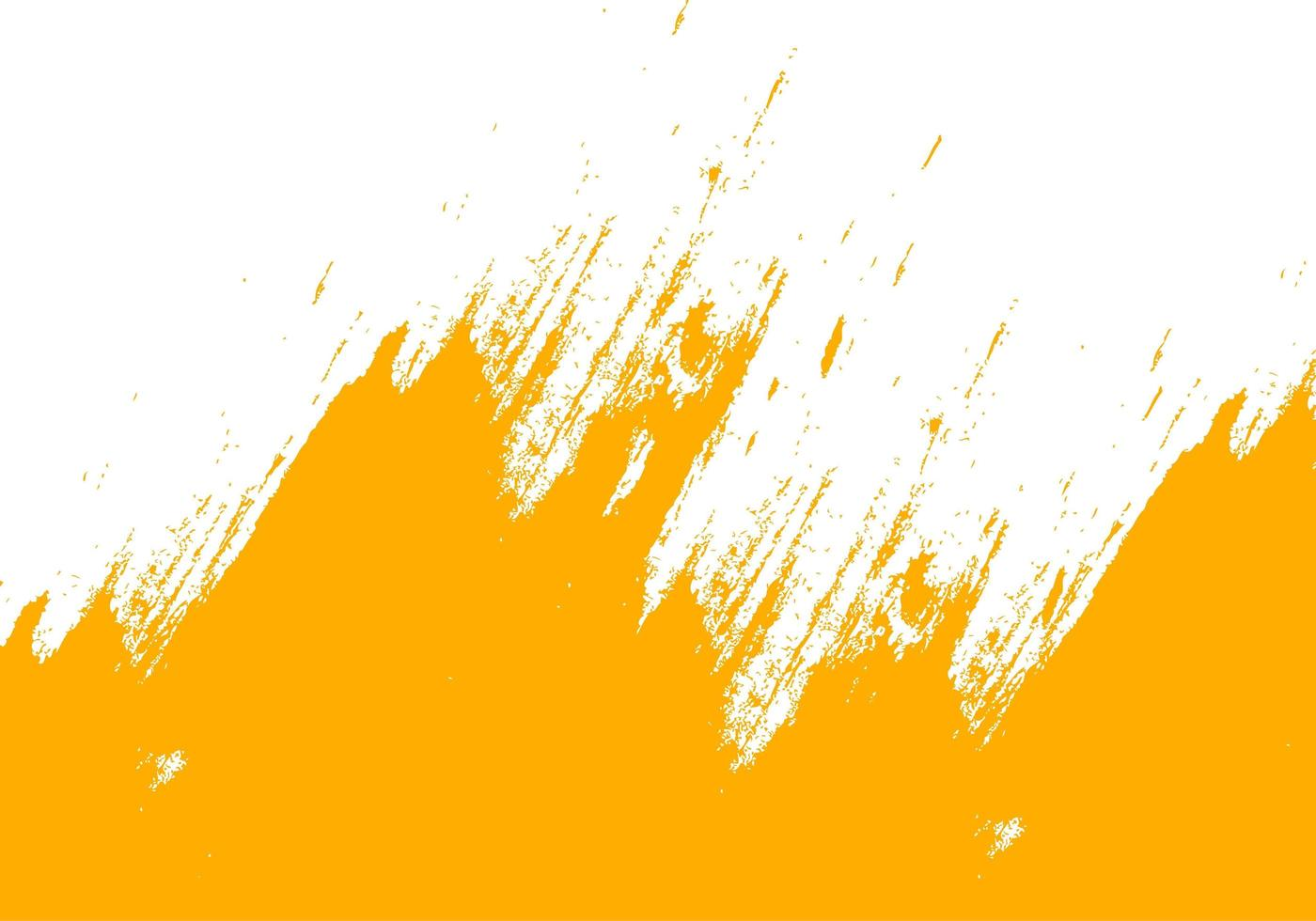 Yellow Grungy Brush Stroking Up vector