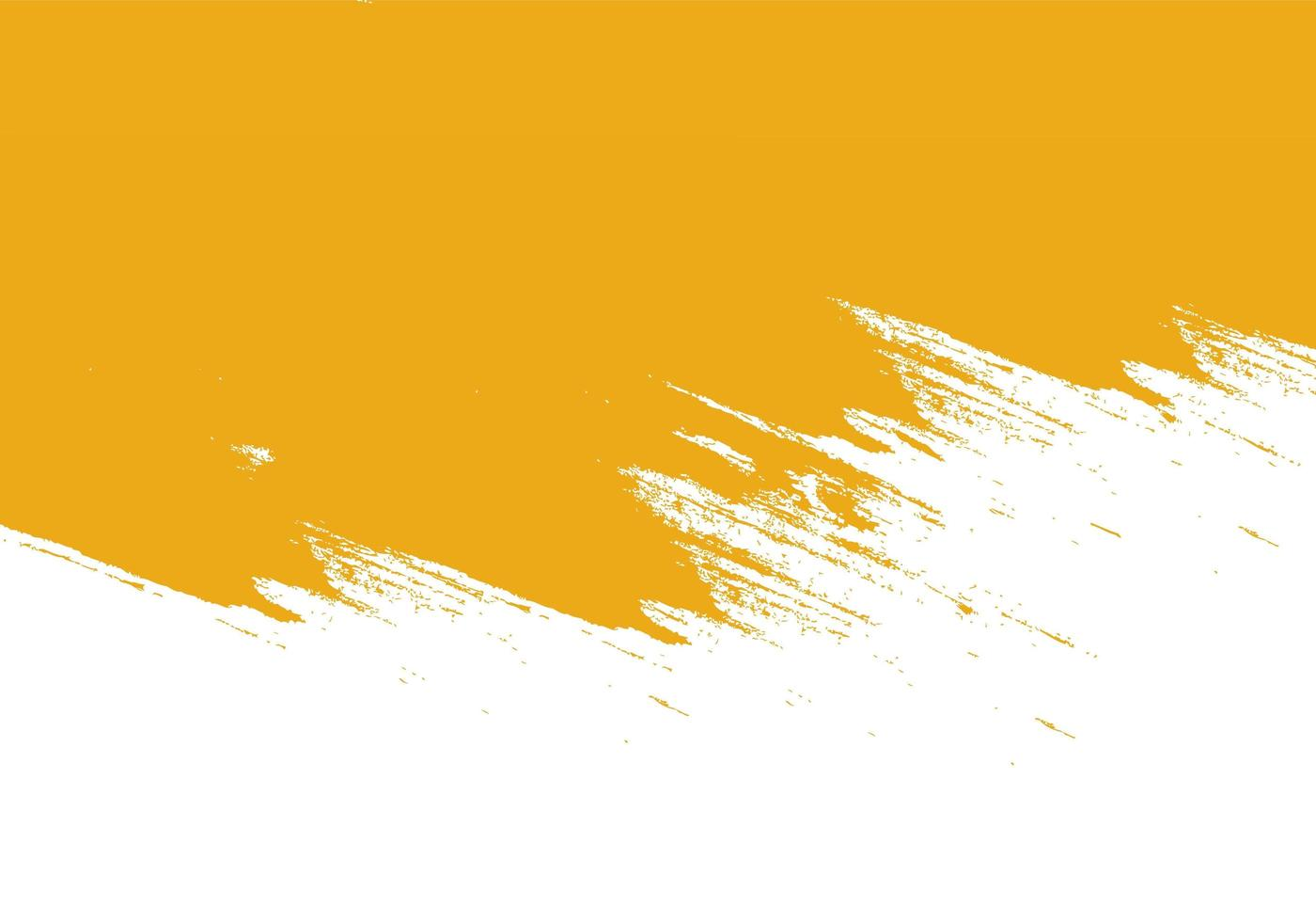 Abstract Orange Grunge Stroke from Top Texture vector
