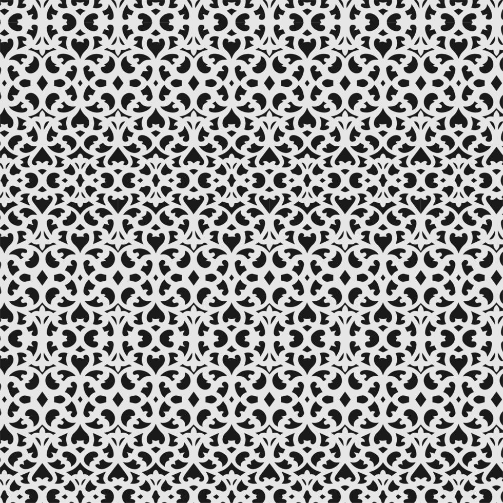 patrón transparente de filigrana entrelazada vector
