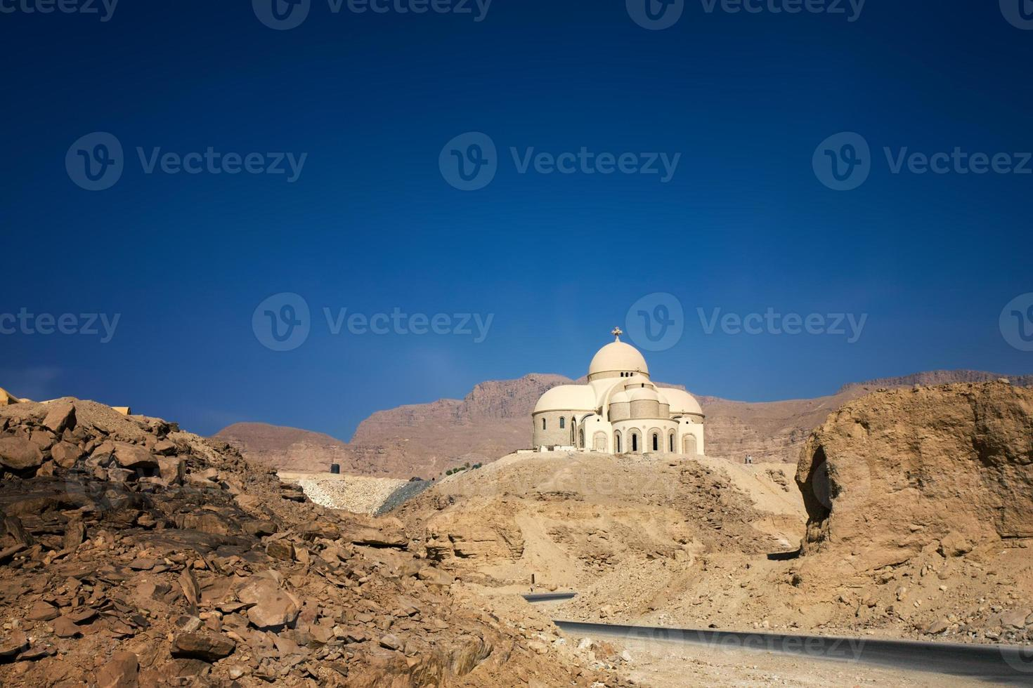 cathedral in desert photo