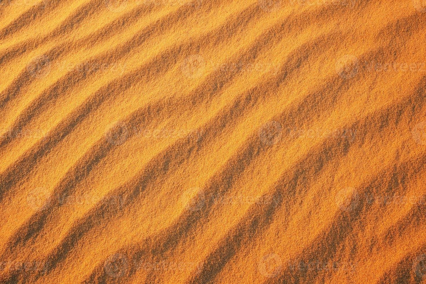 Fondo de arena del desierto. foto