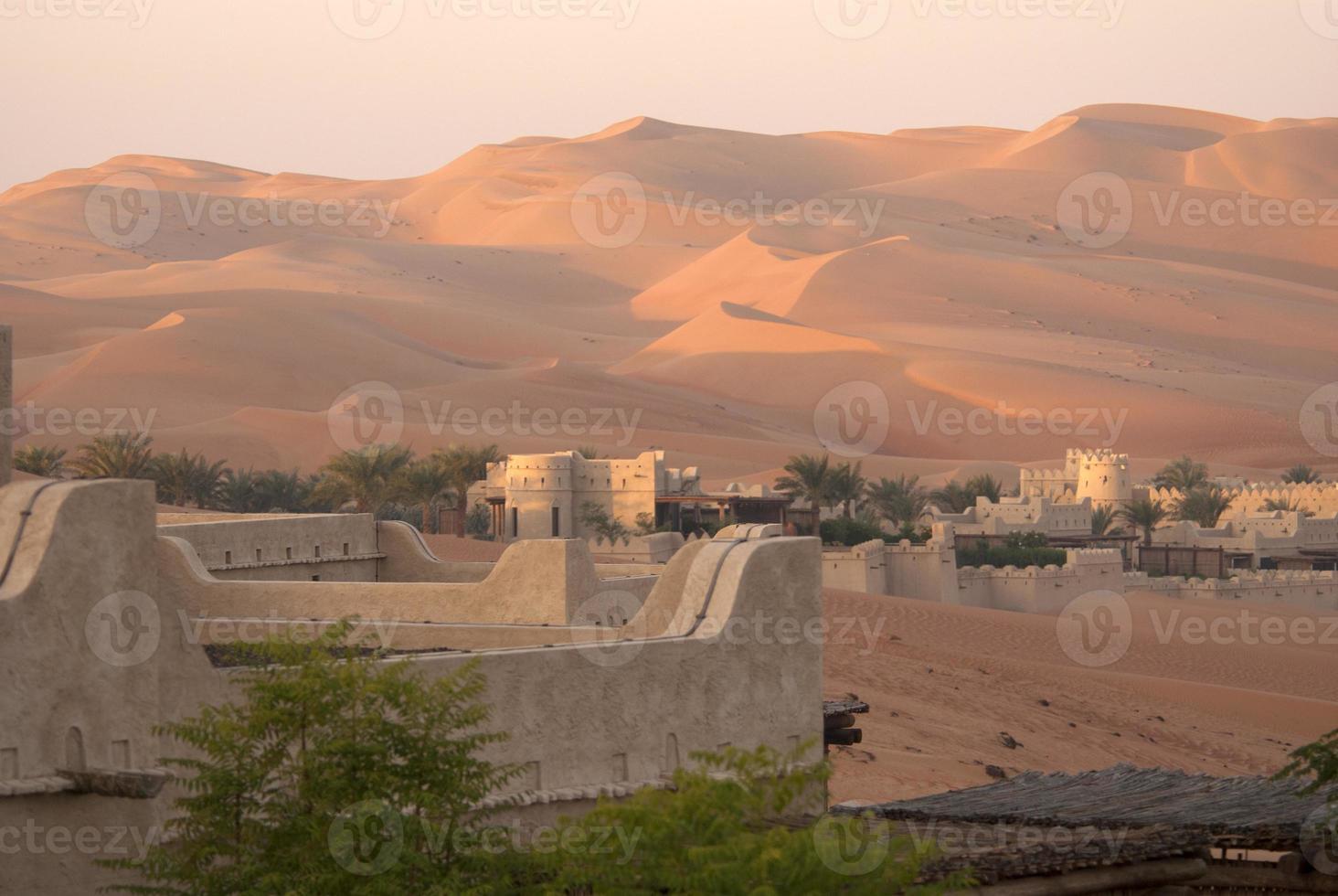 Abu Dhabi desert photo