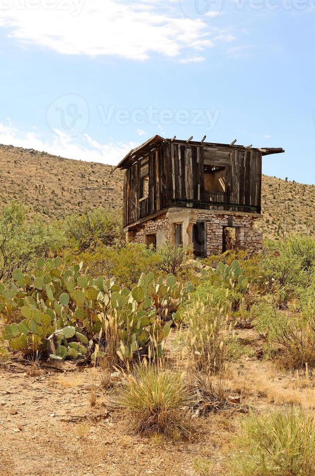 casa no deserto foto