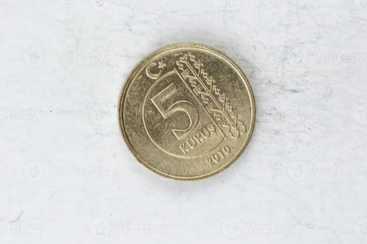 moneta di toro kurus foto