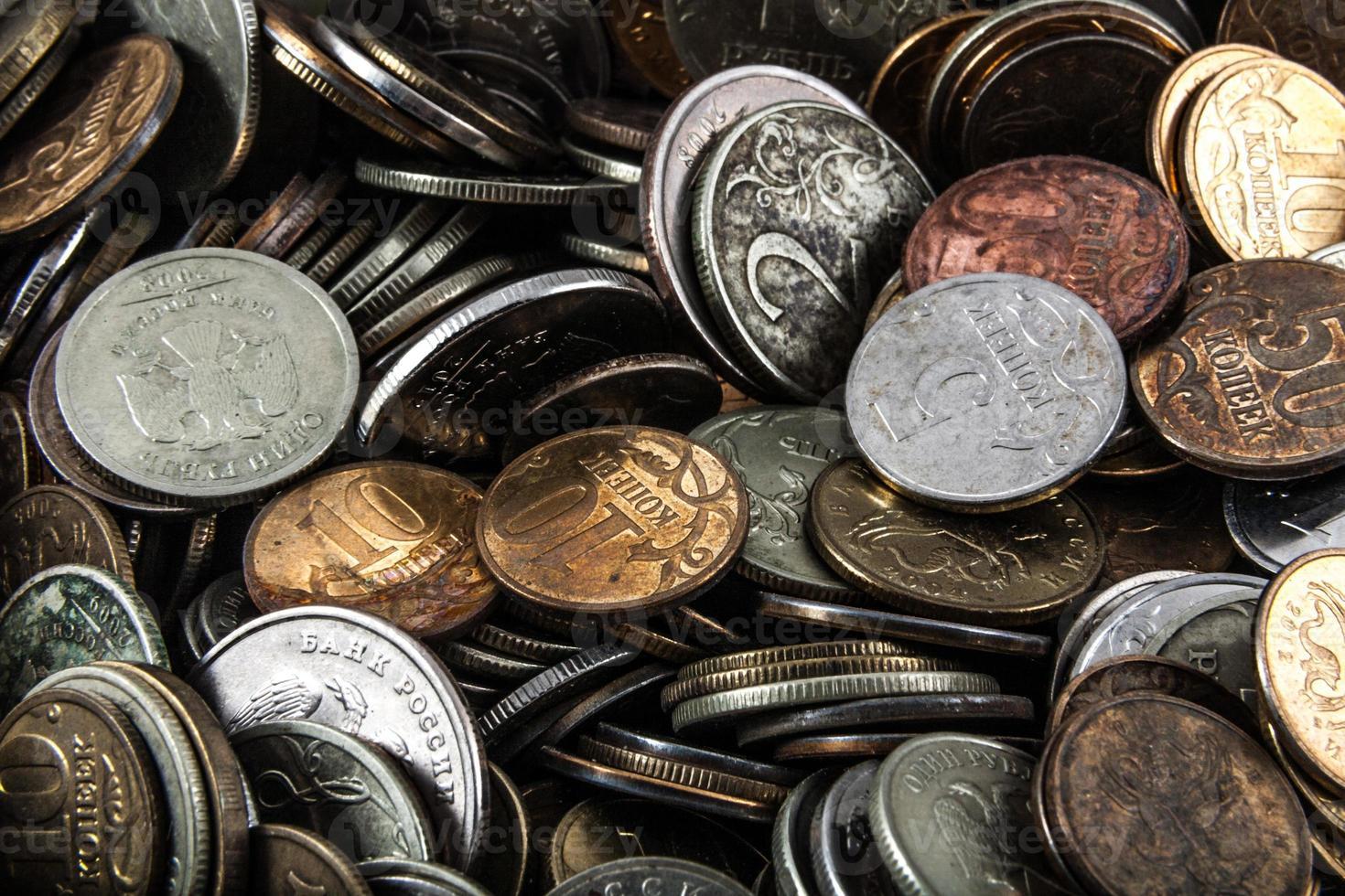 moedas pelo preço do metal foto