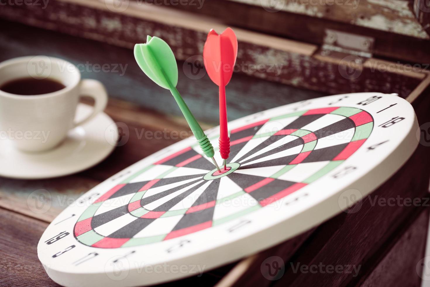 dartboard vintage photo