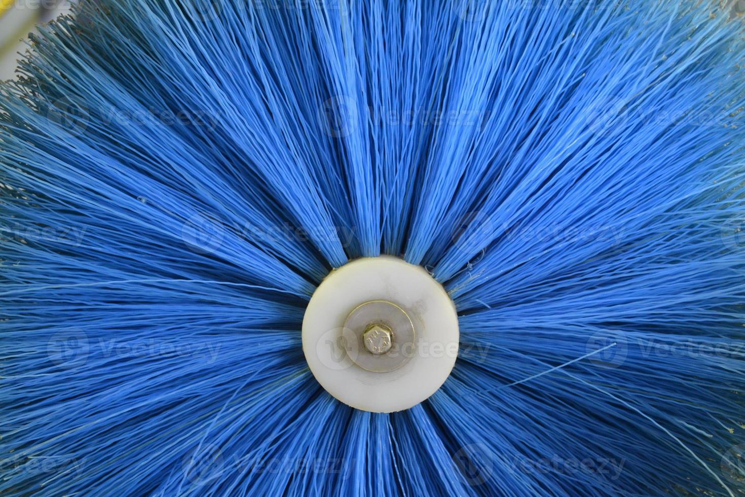 cepillo de limpieza circular industrial foto