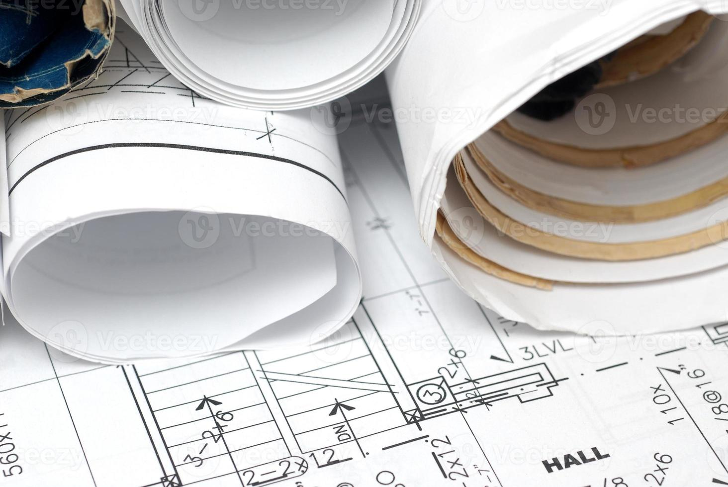 blueprints photo