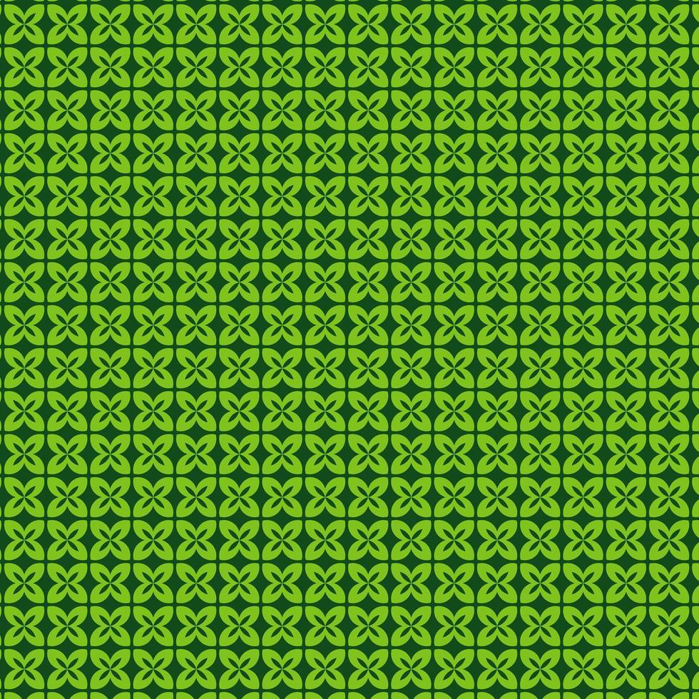 modello foglia verde vettore