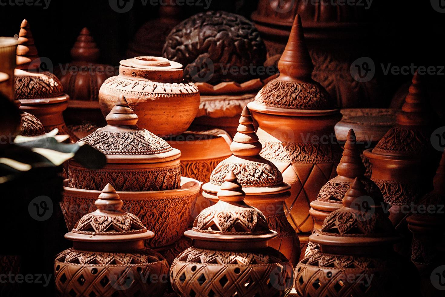 pottery shop in the Market photo