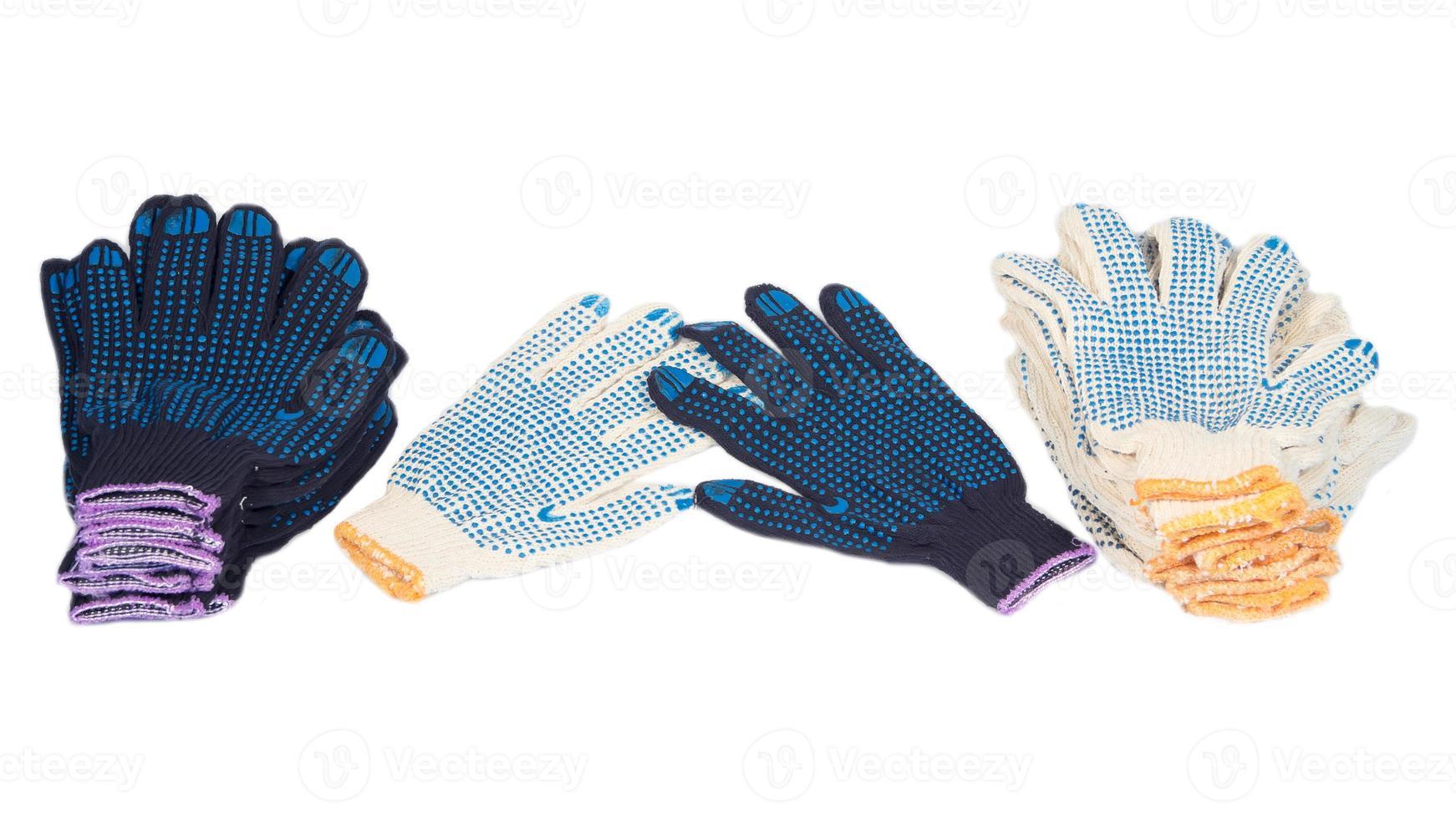 guantes de trabajo foto