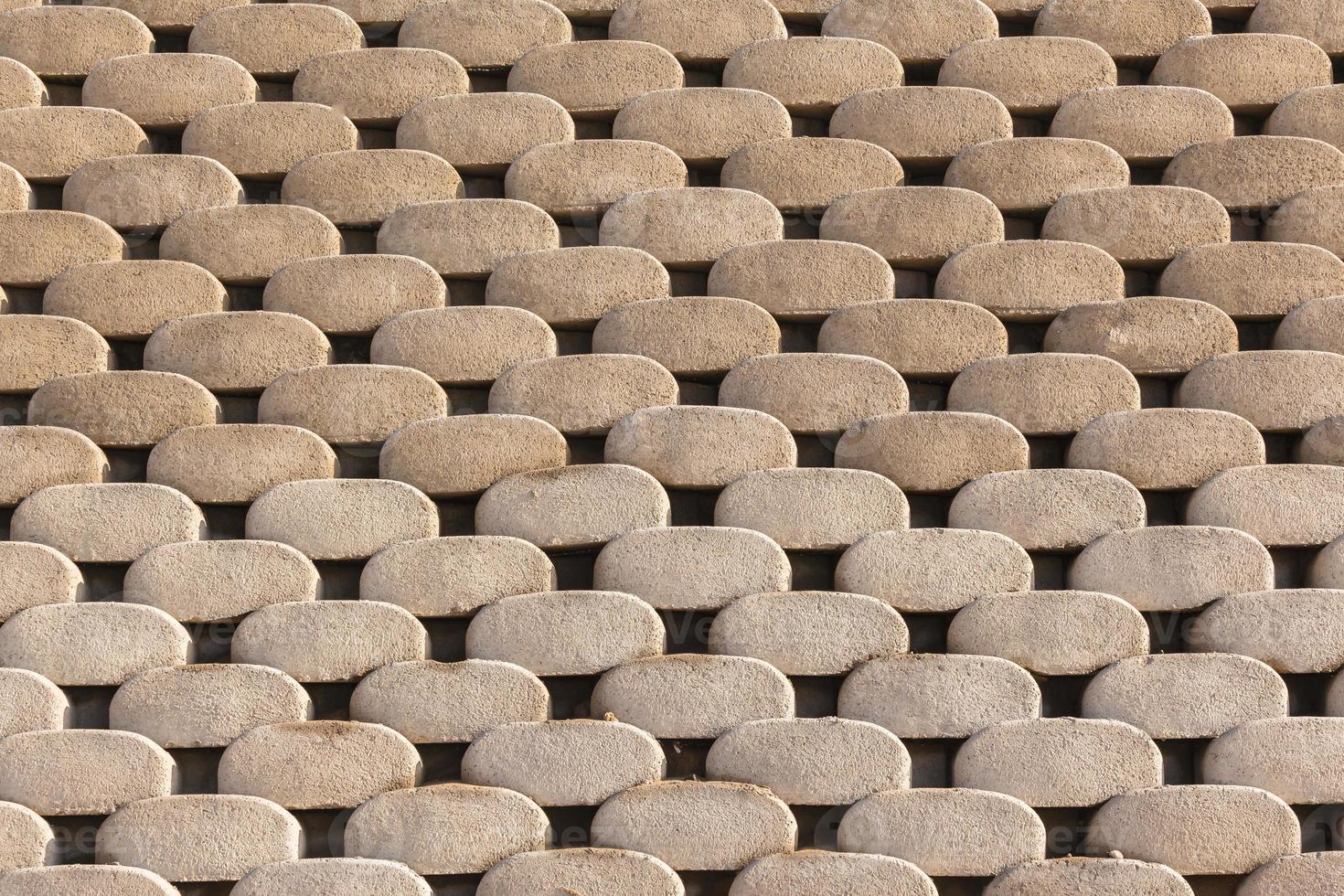 sfondo di blocchi di muro foto