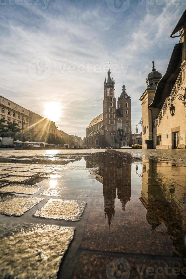 Krakow Market Square, Poland photo