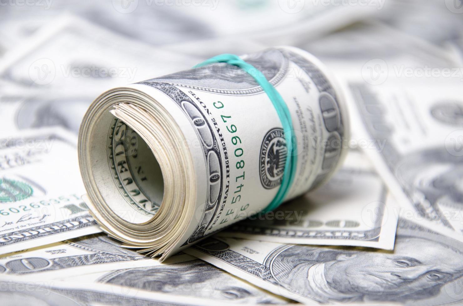 dólares estadounidenses foto