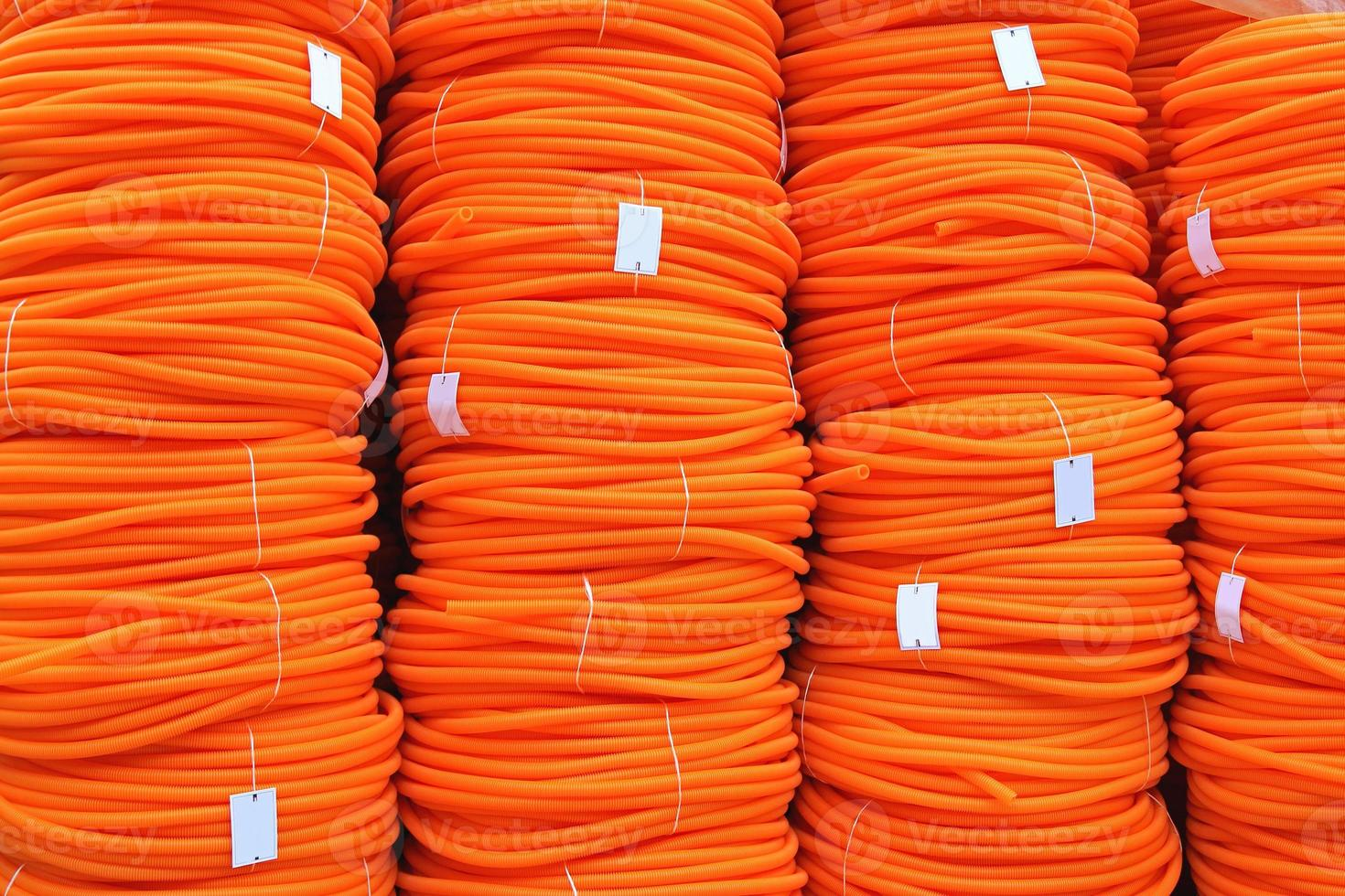 Orange Hose Coils photo