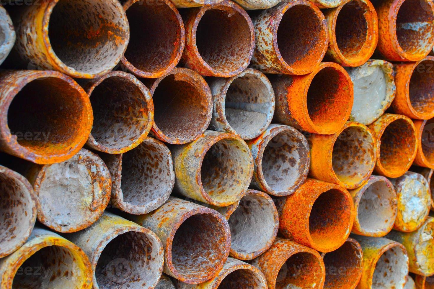 Steel pipe photo