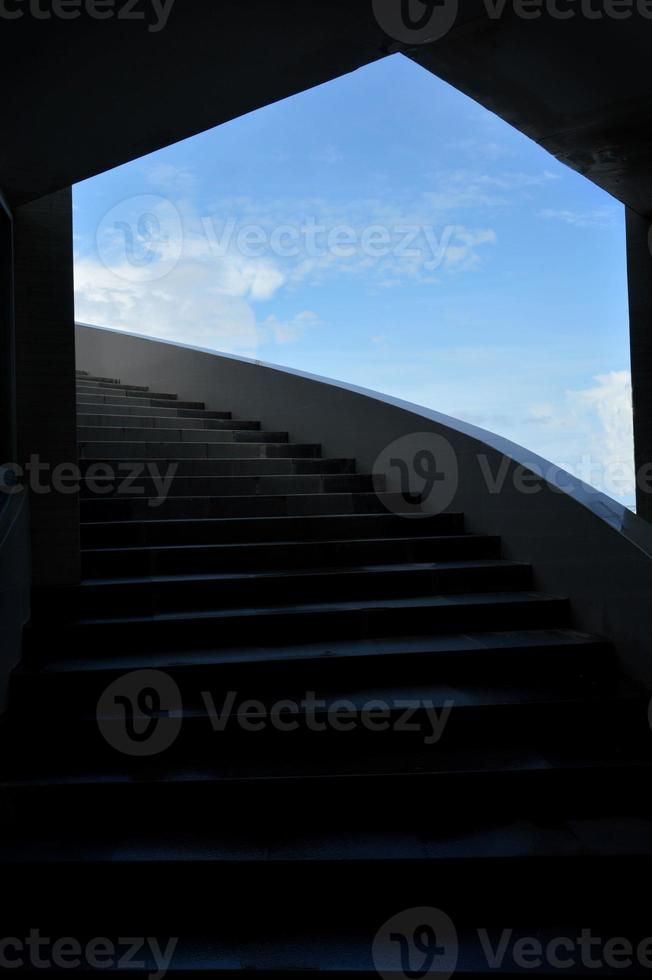 concrete stairs photo