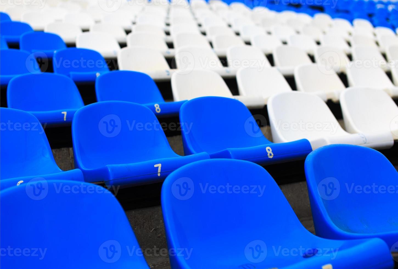 empty seats in the stadium photo