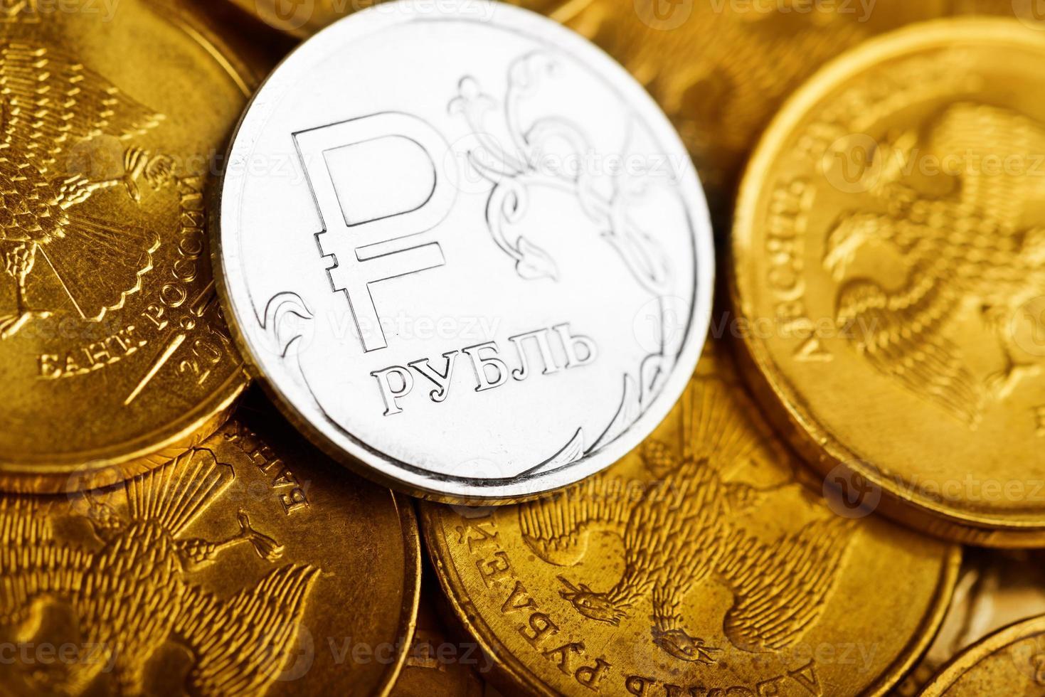 Russian rubles photo