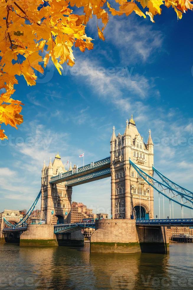 Tower bridge in London photo