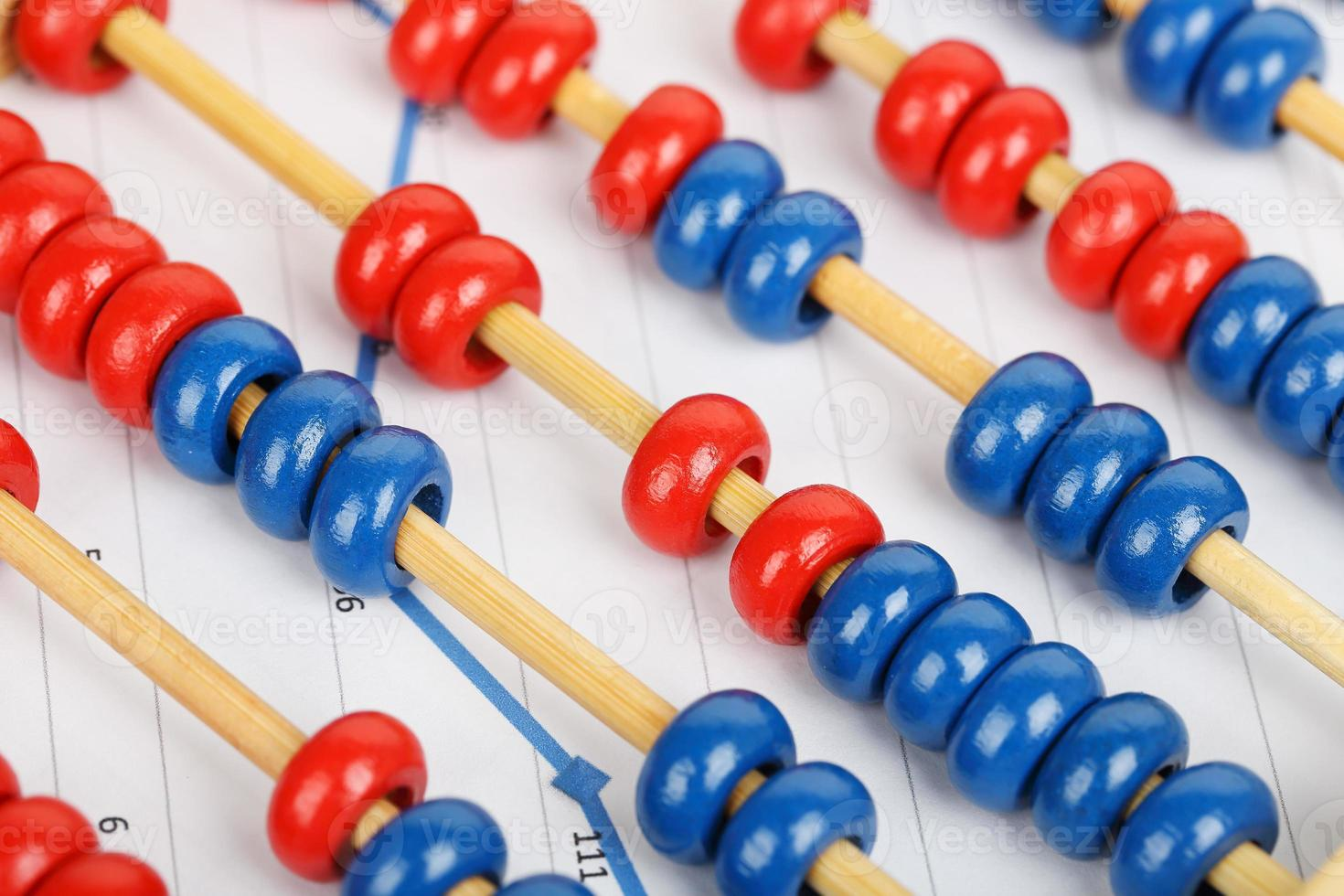 abacus on graph photo