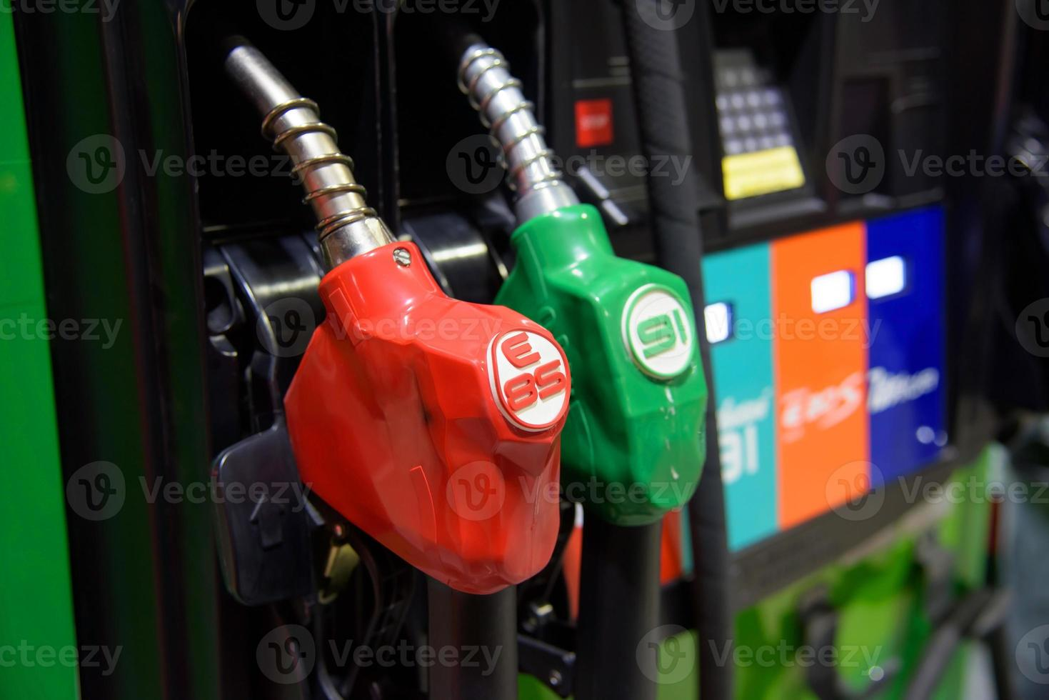 Petrol pump station photo